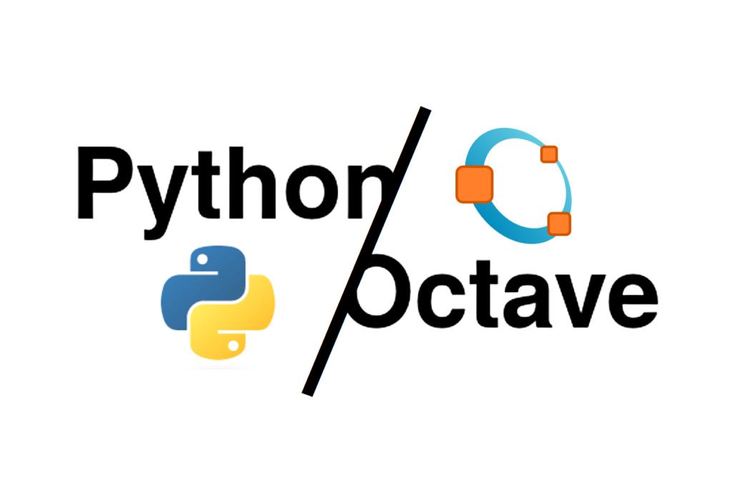 Envrionment setup, Python vs Octave