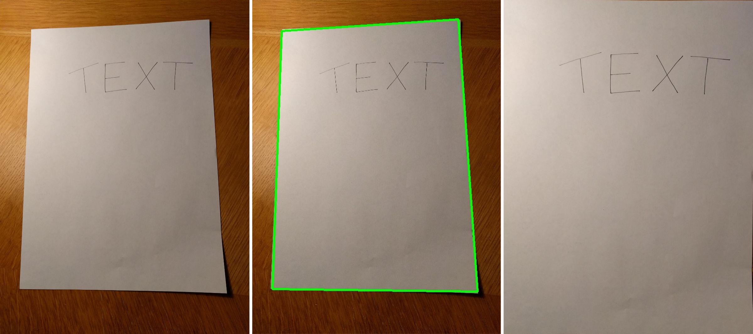 Drawing Lines In Opencv : Scanning documents from photos using opencv breta hajek