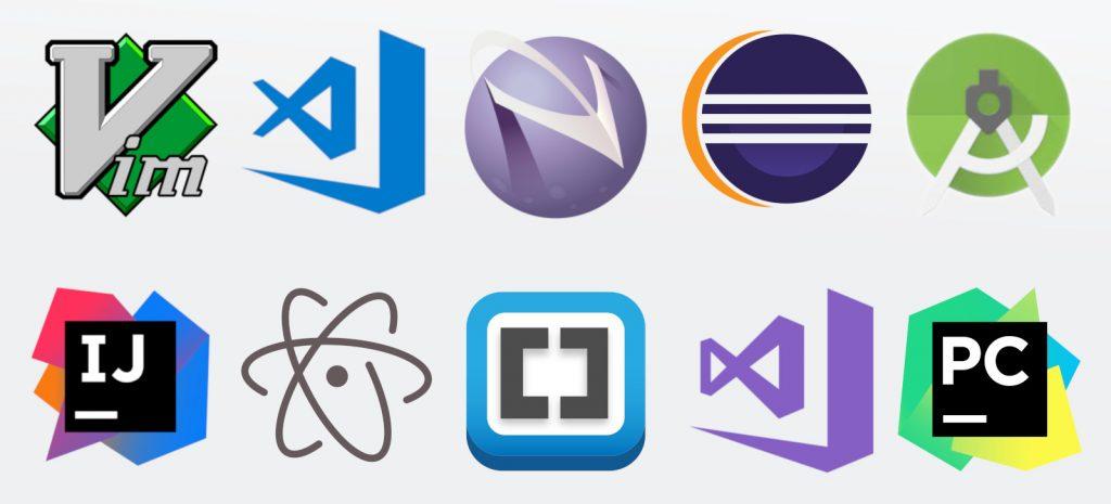 Programming Editors I Used